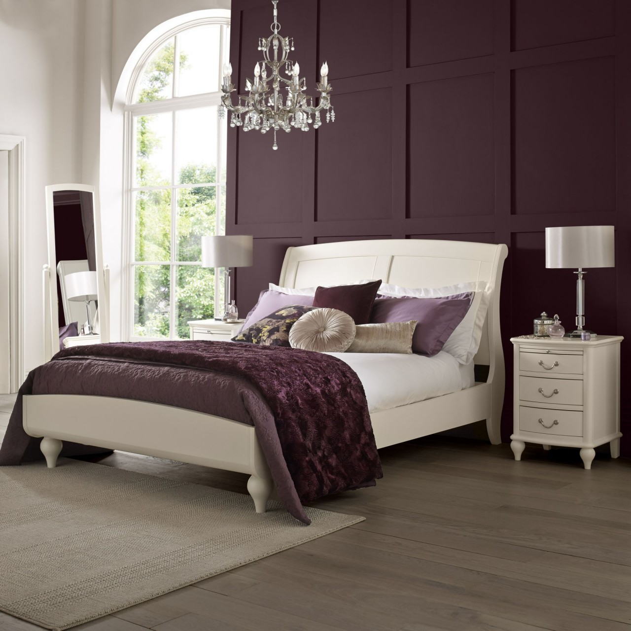 Bed frames uk bordeaux ivory bed frame for Bentley designs bedroom furniture