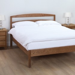 Edgeworth Horizontal Slatted Bed Frame Low Foot End