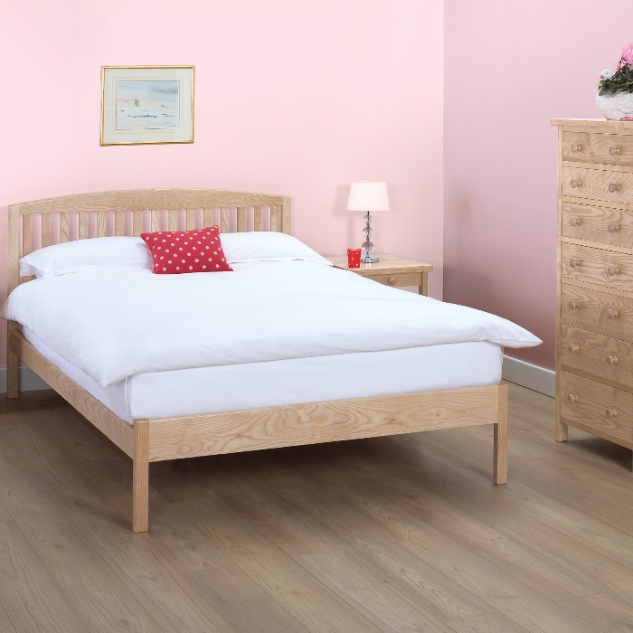 Edgeworth King Size Slatted Lfe 5ft Wooden Bed Frame
