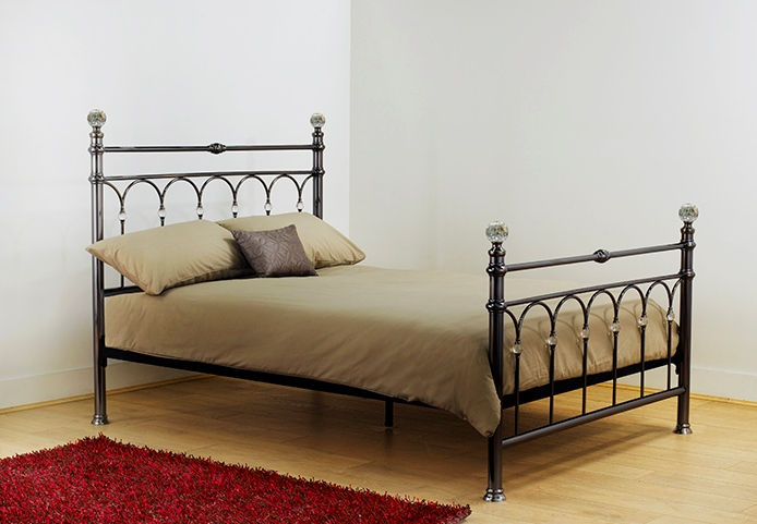 Nickel Double Bed Frame