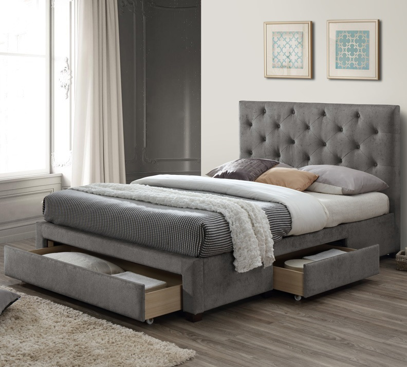 283 Best Images About Fabric Bed Headboards On Pinterest: Upholstered Beds & Fabric Beds Frames