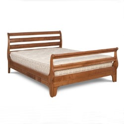 Withington Horizontal Slatted Bed Frame High Foot End
